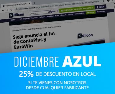 Diciembre Azul - 25% de descuento si te vienes con nosotros