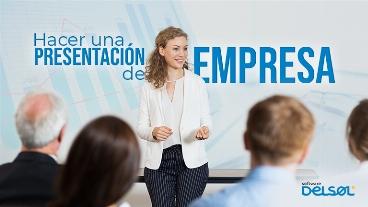 Hacer una presentación de empresa